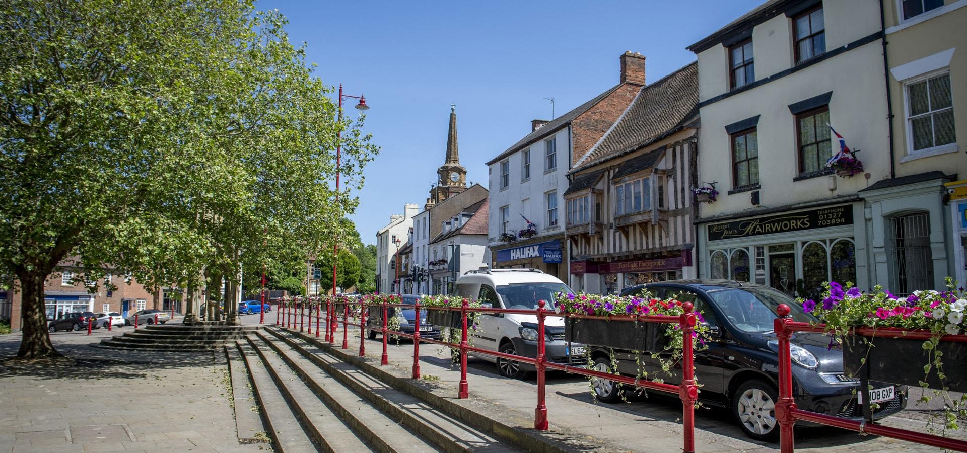 Daventry High Street Image