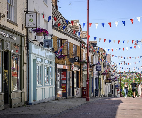 Daventry Town Centre, May 2020.James Robbins, Pictures55
